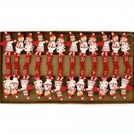 Guirlande Anges de Noël pour Calendrier de l'Avent DIY - Bois