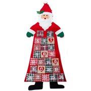 Calendrier de l'Avent Père Noël Géant