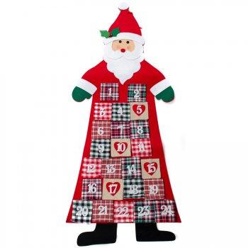 Calendrier de l Avent Père Noël Géant