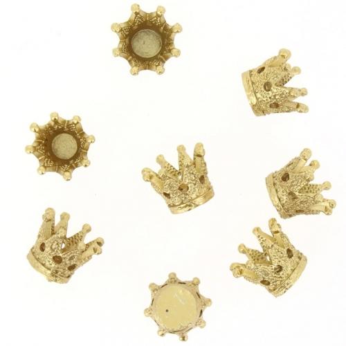 8 Couronnes Doré (2,5 cm) - Résine