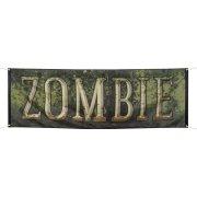 Banni�re Zombie (220 cm)