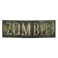 Contient : 1 x Bannière Zombie (220 cm)