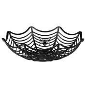 Panier à Bonbons - Toile d'araignée Noir