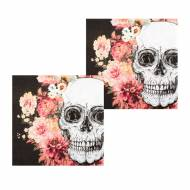 12 Serviettes Day Of dead