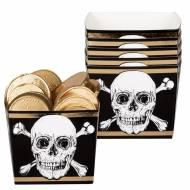 6 Pots Pirate Noir/Or