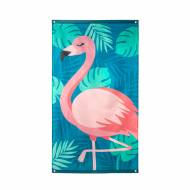 Drapeau Flamant Rose