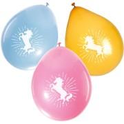 6 Ballons Licorne