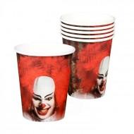 6 Gobelets Clown Horror
