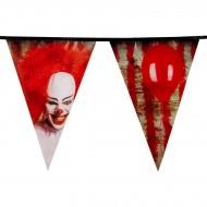 Guirlande Fanions Clown Horror