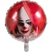 Ballon Gonflé à l'Hélium Clown Horror