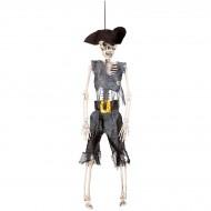 Suspension  Squelette Pirate (40 cm)