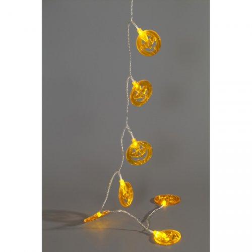 Guirlande Lumineuse 10 Citrouilles LED