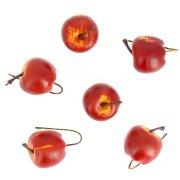 Set Déco 6 Pommes Mini (3,5 cm)