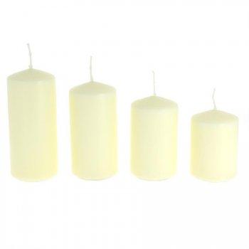 4 Bougies de l Avent -  Blanc
