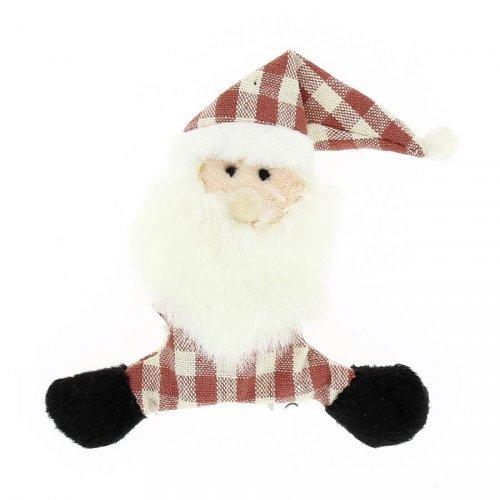 Peluche Magnet Père Noël (10 cm)