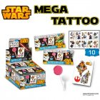 Set Tatouages et Sucette Star Wars