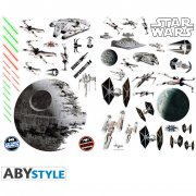 Stickers muraux Star Wars - Bataille spatiale