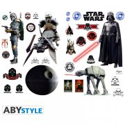 Stickers muraux Star Wars - Les H�ros de l'Empire