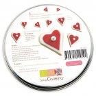 Boîte de 6 Emporte-pièces Métal Coeurs