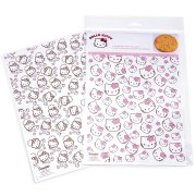 6 Feuilles Transfert de D�cors Hello Kitty