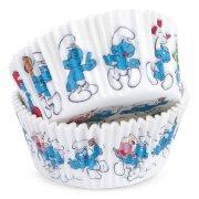 36 Caissettes à Cupcakes Schtroumpfs
