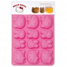 Moule 9 chocolats Hello Kitty et Melody