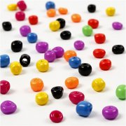 Mix Perles de Rocaille Multicolores (5 mm)