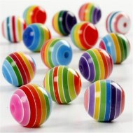 Perles Rainbow Mix (10 mm)