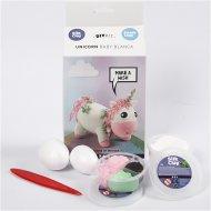 Kit Créatif Licorne Baby - Pâte auto-durcissante