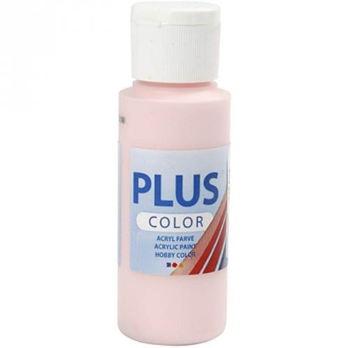 Peinture Acrylique Plus Color (60 ml) - Rose Soft