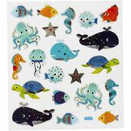 Planche 21 Stickers Animaux Marins