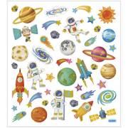 Planche 41 Stickers Espace