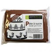 Pâte à sucre Chocolat Patisdécor 250g