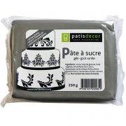 Pâte à sucre gris Patisdécor 250g