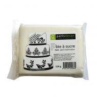 Pâte à sucre marshmallow Blanche Patisdécor 250g