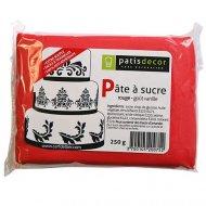 Pâte à sucre Rouge Patisdécor 250g