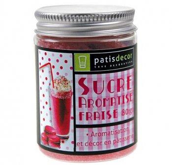 Sucre Aromatisé Fraise