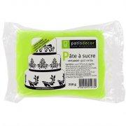 Pâte à sucre Vert Citron Patisdécor 250g
