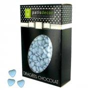 Drag�es Mini Coeur Bleu Ciel