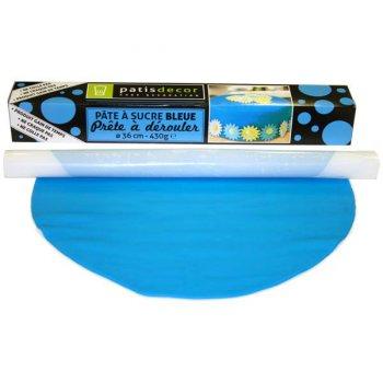 Pâte à Sucre Bleue à dérouler (430 g)