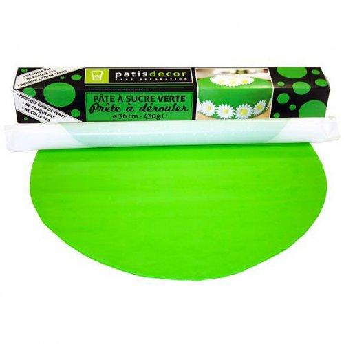 Pâte à Sucre Verte à dérouler (430 g)