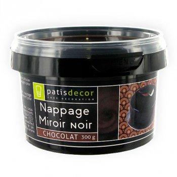 Glaçage Miroir Chocolat Noir (300 g)