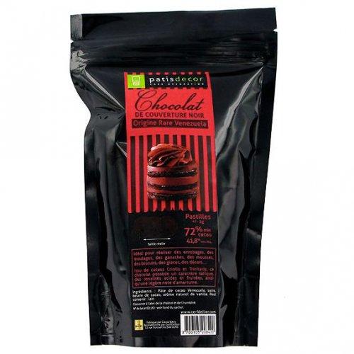 Pastilles Chocolat Noir 72% (250 g)