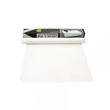 Pâte à Sucre Prête à dérouler - Blanc (36 x 60 cm)