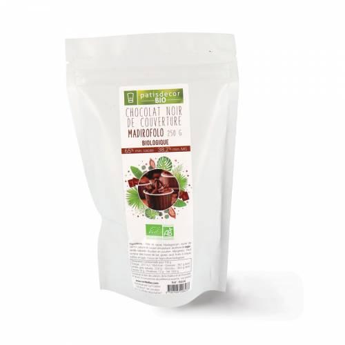 Chocolat Noir de Couverture Madirofolo Bio - 250g