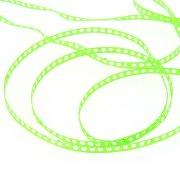 Ruban Pois Perforés (0,7 cm - 2 m) - Vert Pop