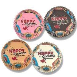 100 Mini Caissettes à Mini Cupcakes Happy cooking
