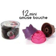 12 Minis Moules Amuse-bouches