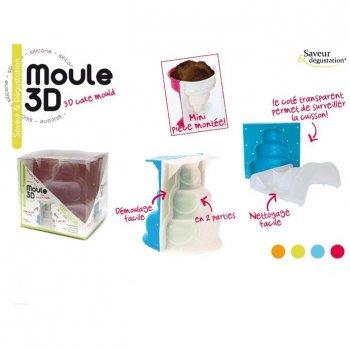 moule g teau 3d pi ce mont e pour l 39 anniversaire de votre. Black Bedroom Furniture Sets. Home Design Ideas