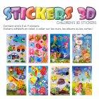 Grands Stickers 3D